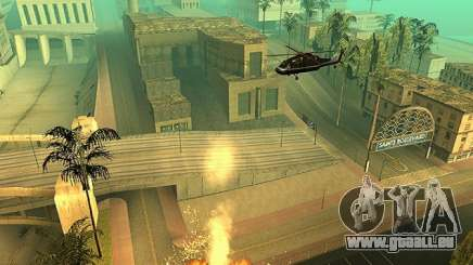L'ajout d'armes à la technique de l'air pour GTA San Andreas