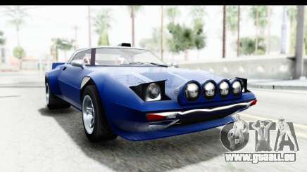 GTA 5 Lampadati Tropos Rallye No Headlights IVF für GTA San Andreas