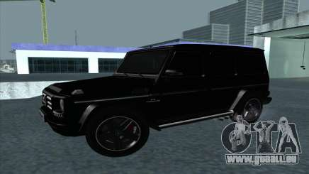 Mercedes-Benz G55 black für GTA San Andreas