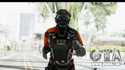 Homefront The Revolution - KPA v5 Captain pour GTA San Andreas