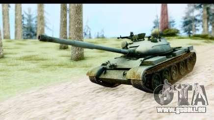 T-62 Wood Camo v1 für GTA San Andreas