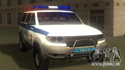 UAZ Patriot de la Police v1 pour GTA San Andreas