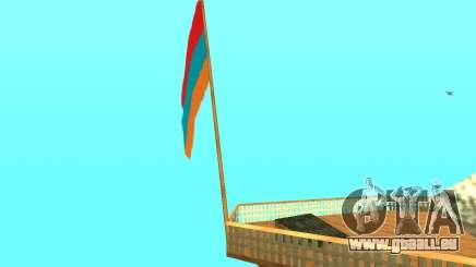 Armenian Flag On Mount Chiliad V-2.0 für GTA San Andreas