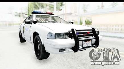 Sri Lanka Police Car v3 pour GTA San Andreas