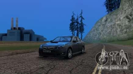 Subaru Legacy 2010 pour GTA San Andreas