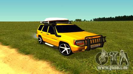 Jeep Grand Cherokee für GTA San Andreas