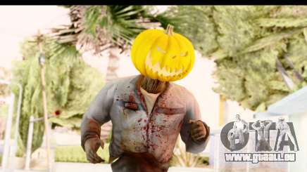 Left 4 Dead 2 - Zombie Pumpkin pour GTA San Andreas