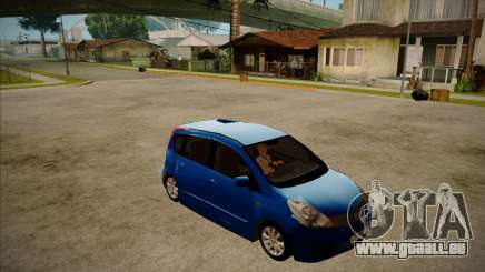 Nissan Note 2008 pour GTA San Andreas
