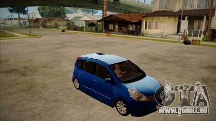Nissan Note 2008 für GTA San Andreas