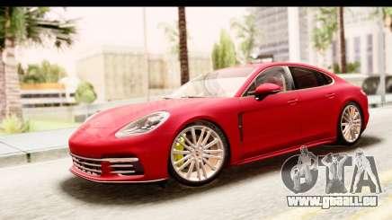 Porsche Panamera 4S 2017 v5 pour GTA San Andreas