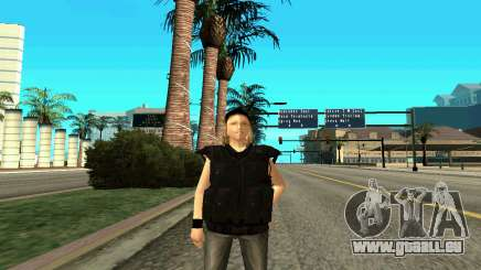 Female trainer SWAT pour GTA San Andreas