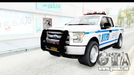 Ford F-150 Police New York pour GTA San Andreas