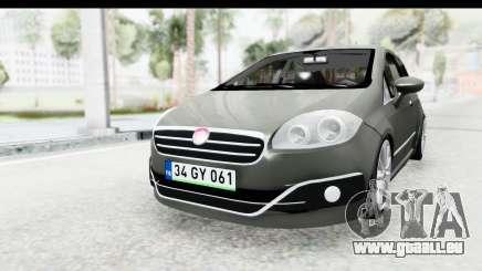 Fiat Linea 2015 v2 Wheels pour GTA San Andreas