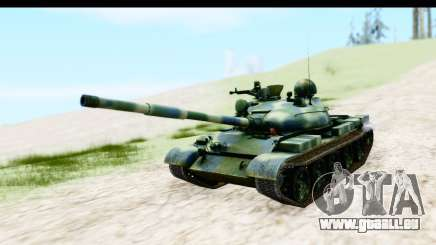 T-62 Wood Camo v3 für GTA San Andreas