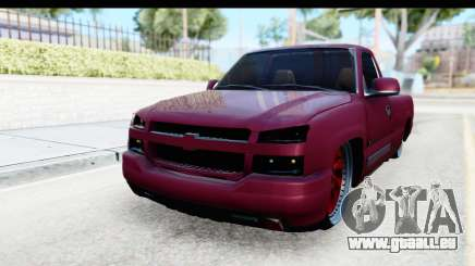 Chevrolet Silverado 2005 Low für GTA San Andreas
