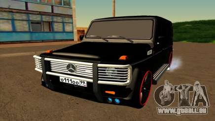 1999 Mercedes-Benz G55 AMG Brabus pour GTA San Andreas