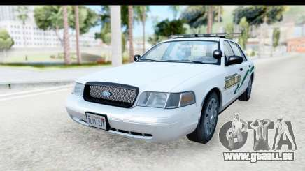 Ford Crown Victoria 2009 Southern Justice für GTA San Andreas