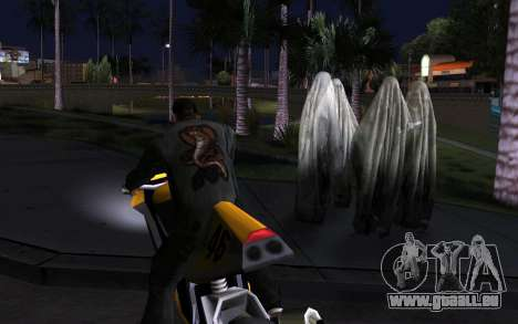 Transparent Ghost für GTA San Andreas dritten Screenshot