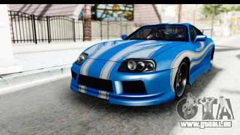 NFS: Carbon Darius Toyota Supra Updated pour GTA San Andreas