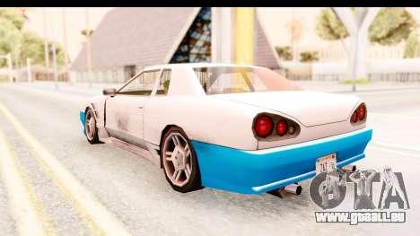 20egt Elegy pour GTA San Andreas roue