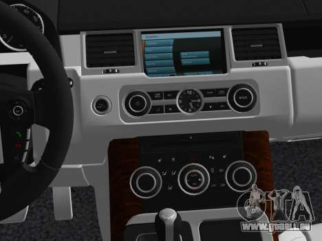 Range Rover Sport HSE (Rims 1) v2.0 für GTA Vice City obere Ansicht