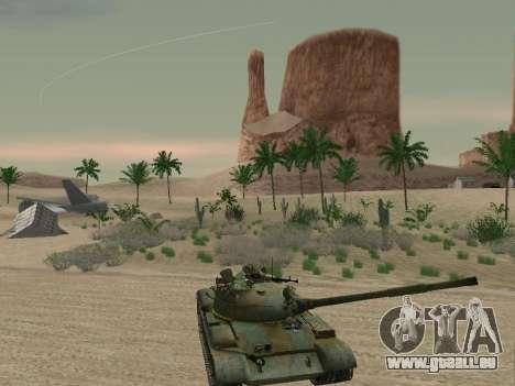 T-62 für GTA San Andreas Motor
