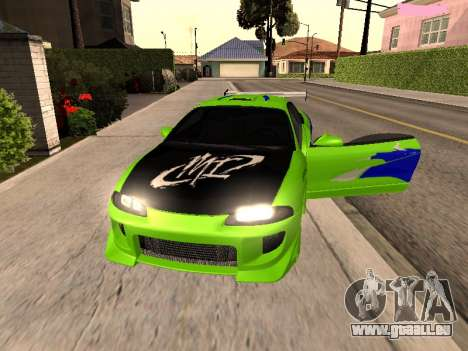 Mitsubishi Eclipse The Fast and the Furious pour GTA San Andreas