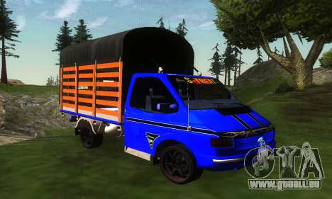Ford Transit Stylo Colombia pour GTA San Andreas