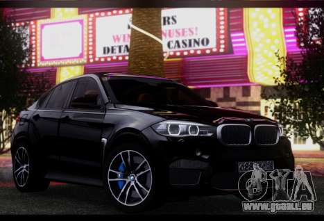 BMW X6M BULKIN ED. pour GTA San Andreas