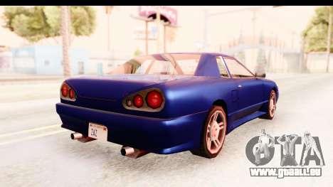 20egt Elegy pour GTA San Andreas laissé vue