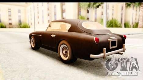 Aston Martin DB2 Mk II 39 1955 für GTA San Andreas rechten Ansicht