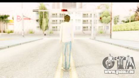 L Lawliet (Death Note) für GTA San Andreas dritten Screenshot