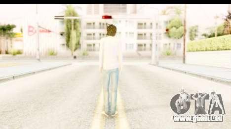 L Lawliet (Death Note) pour GTA San Andreas troisième écran