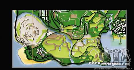 Remaster Map Full Version pour GTA San Andreas quatrième écran