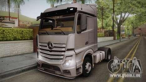 Mercedes-Benz Actros Mp4 4x2 v2.0 Steamspace v2 pour GTA San Andreas