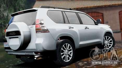 GTA 5 Toyota Land Cruiser Prado 2014 linke Seitenansicht