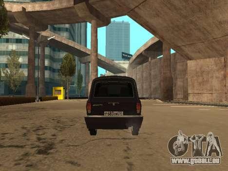 GAZ-310221 für GTA San Andreas Rückansicht
