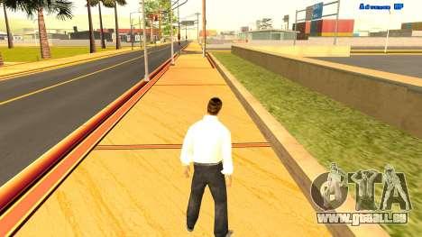 Sans fin de course pour GTA San Andreas