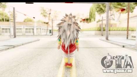 Dragon Ball Xenoverse Broly SSJ5 für GTA San Andreas dritten Screenshot