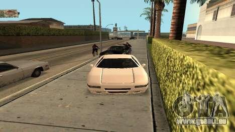 Cheetah Mod pour GTA San Andreas troisième écran