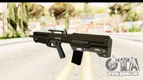 GTA 5 Vom Feuer Advanced Rifle für GTA San Andreas zweiten Screenshot