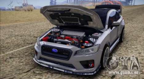 Subaru WRX STI LP400 2016 pour GTA San Andreas vue de droite