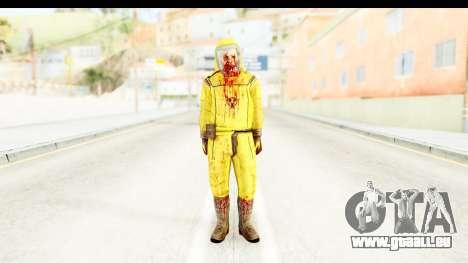 Zombie Radioactivo für GTA San Andreas zweiten Screenshot