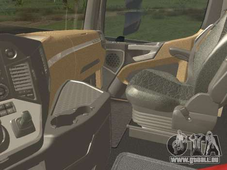 Mercedes-Benz Actros Mp4 4x2 v2.0 Gigaspace für GTA San Andreas Seitenansicht