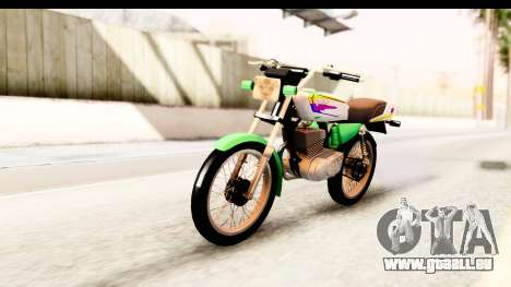 Yamaha RX115 Colombia pour GTA San Andreas