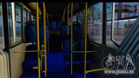 Metrobus de la Ciudad de Mexico Trailer für GTA San Andreas Rückansicht