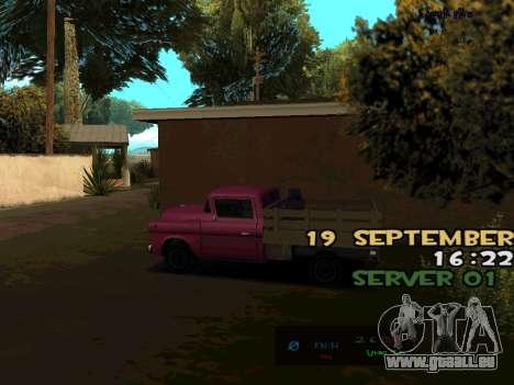 C-HUD BREZZ für GTA San Andreas dritten Screenshot