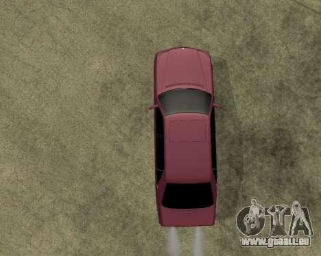 Mercedes S-600 Armenian für GTA San Andreas Rückansicht