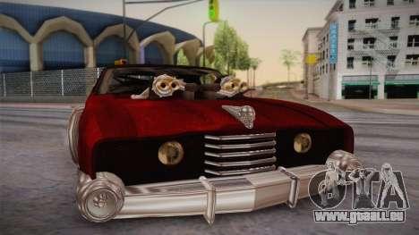 Ford Landau 1973 Mad Max 2 pour GTA San Andreas sur la vue arrière gauche