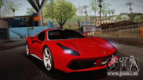 Ferrari 488 Spider pour GTA San Andreas